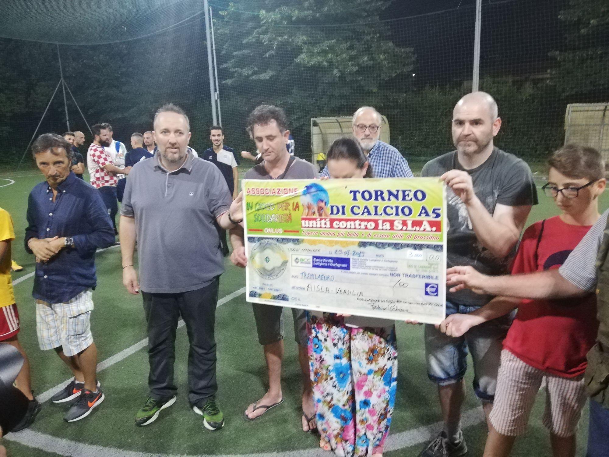 """Los Pollos Hermanos si aggiudicano il torneo """"Tutti Uniti Contro La SLA"""""""