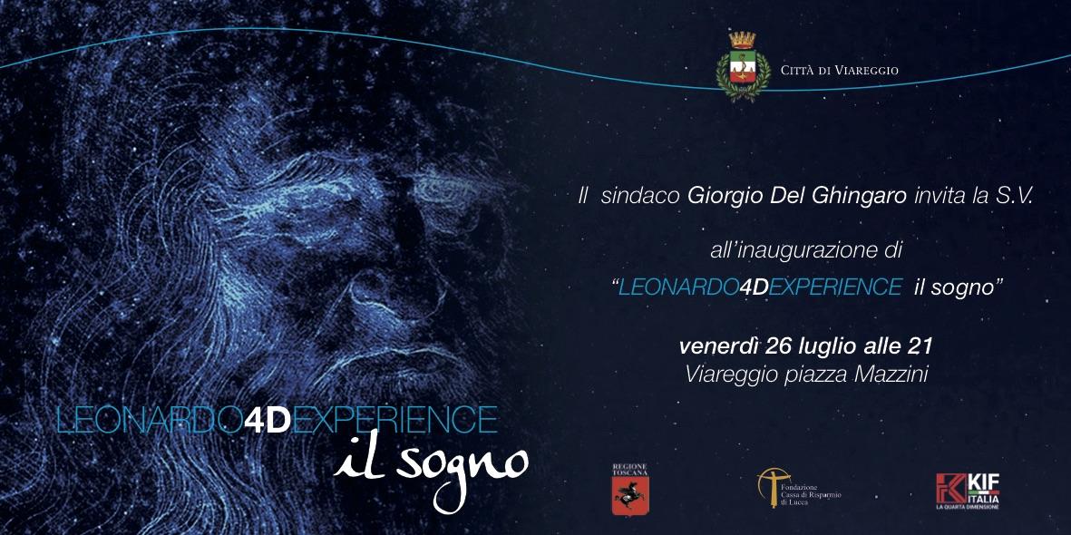Viareggio celebra Leonardo da Vinci, in scena in piazza Mazzini