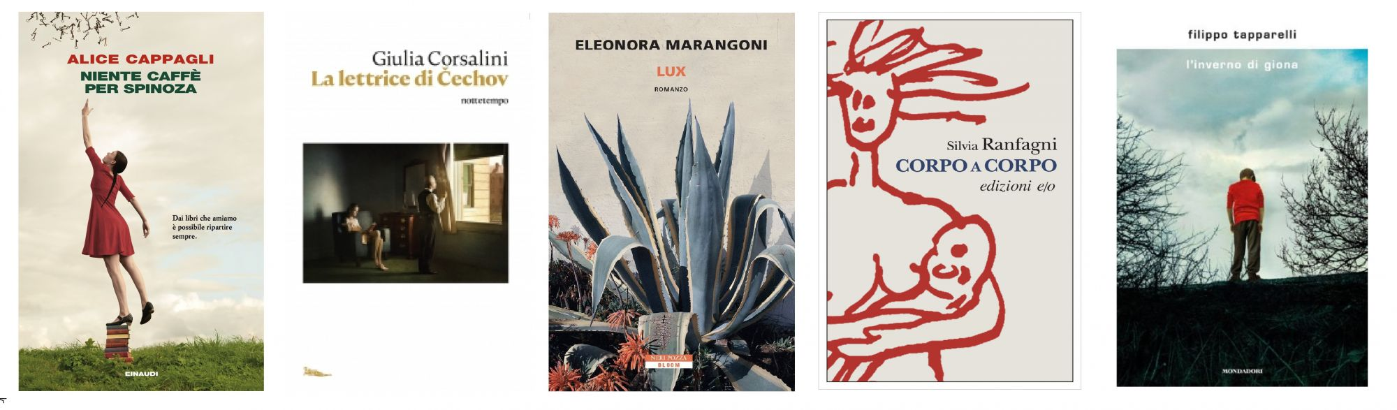 Premio Letterario Massarosa, ecco la cinquina dei finalisti