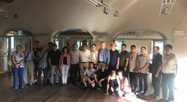 Dalla Cina per… dipingere il lago di Puccini