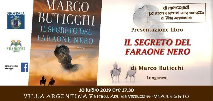 """Gli intrighi e il fascino dell'antico Egitto rivivono nel romanzo di Marco Buticchi """"Il Segreto del Faraone Nero"""""""