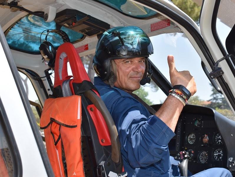 Torna a San Rossore l'elicottero antincendio della Protezione Civile