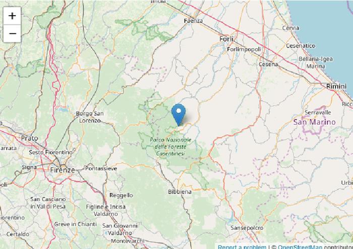 Terremoto in Romagna, la scossa avvertita anche in Toscana