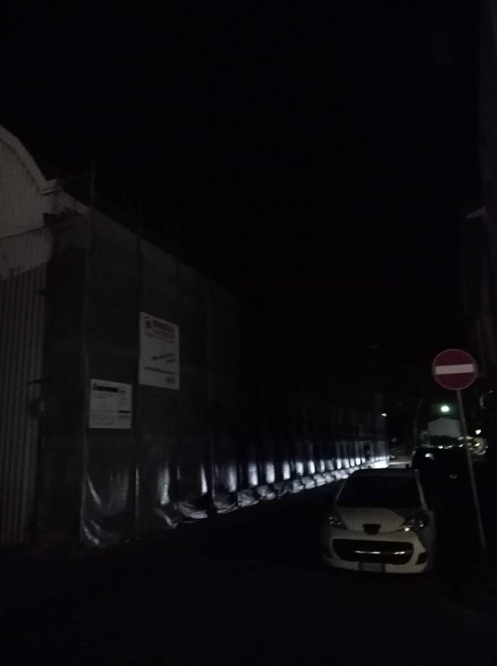 """Strade in Darsena al buio da circa un mese, Fabio Gentili: """"Ora basta"""""""