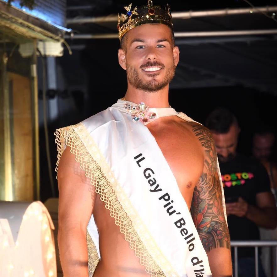 mr gay Italia mamamia