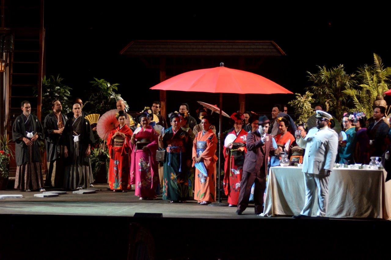 Lunedì 12 agosto al Pucciniano in scena il fascino del Sol Levante con Madama Butterfly
