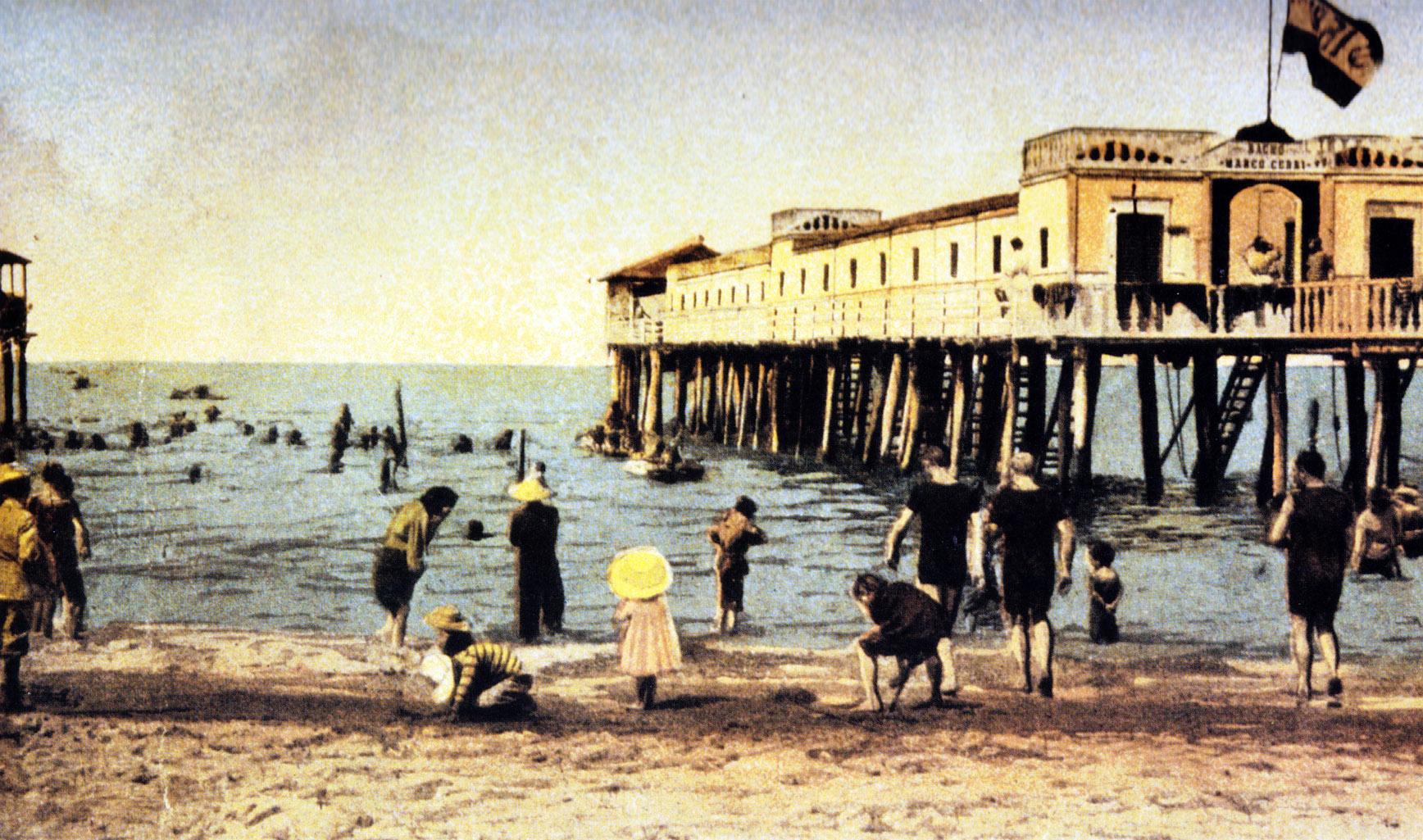 La storia balneare di Viareggio nella due giorni di Ferragosto