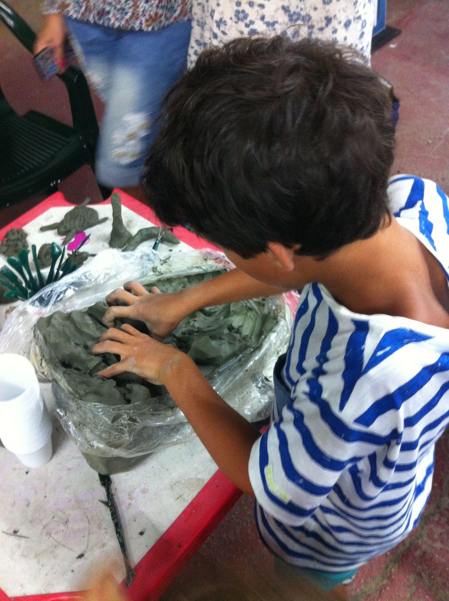 Versiliana dei Piccoli, merenda con cocomero a Ferragosto  e laboratorio di creta il giorno successivo