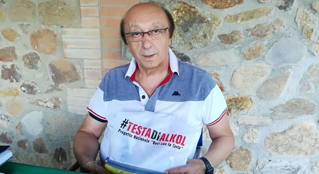 """""""Non fare la Testadialkol"""", anche Luciano Moggi contro la guida da ubriachi"""