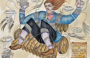 MASCHERA ISOLATA Raciti Matteo I disagi di Gulliver