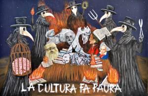 MASCHERATA IN GRUPPO Bianchi Silvano La cultura fa paura