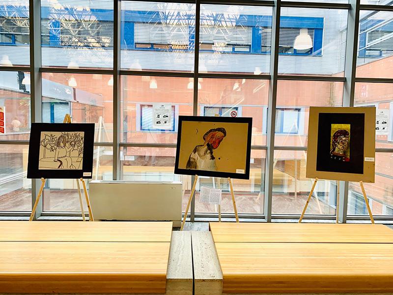 """All'ospedale Versilia esposte le opere di art brut """"L'immaginario svelato"""" realizzate dai pazienti psichiatrici"""