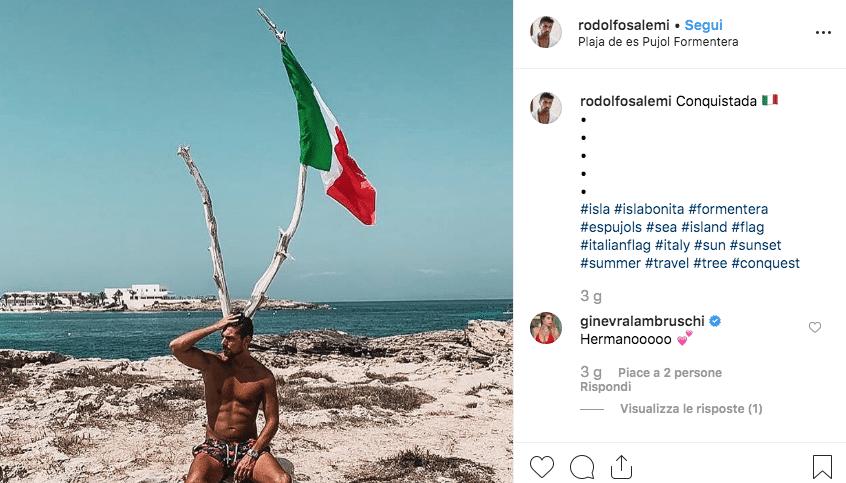 """""""Conquistada"""", il """"mistero"""" si infittisce: foto di Rodolfo Salemi su Instagram e il gossip continua"""