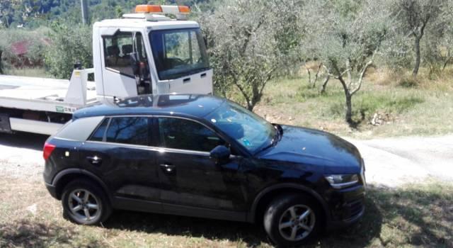 Rubata un'auto a una cittadina russa. La PM la ritrova il giorno dopo il furto