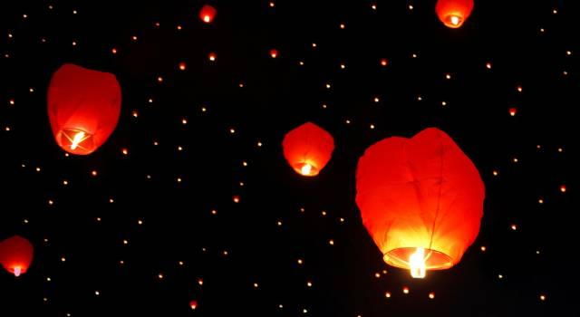 Ecco SpadaIlluminando, spettacolo di lanterne cinesi in via Cenami