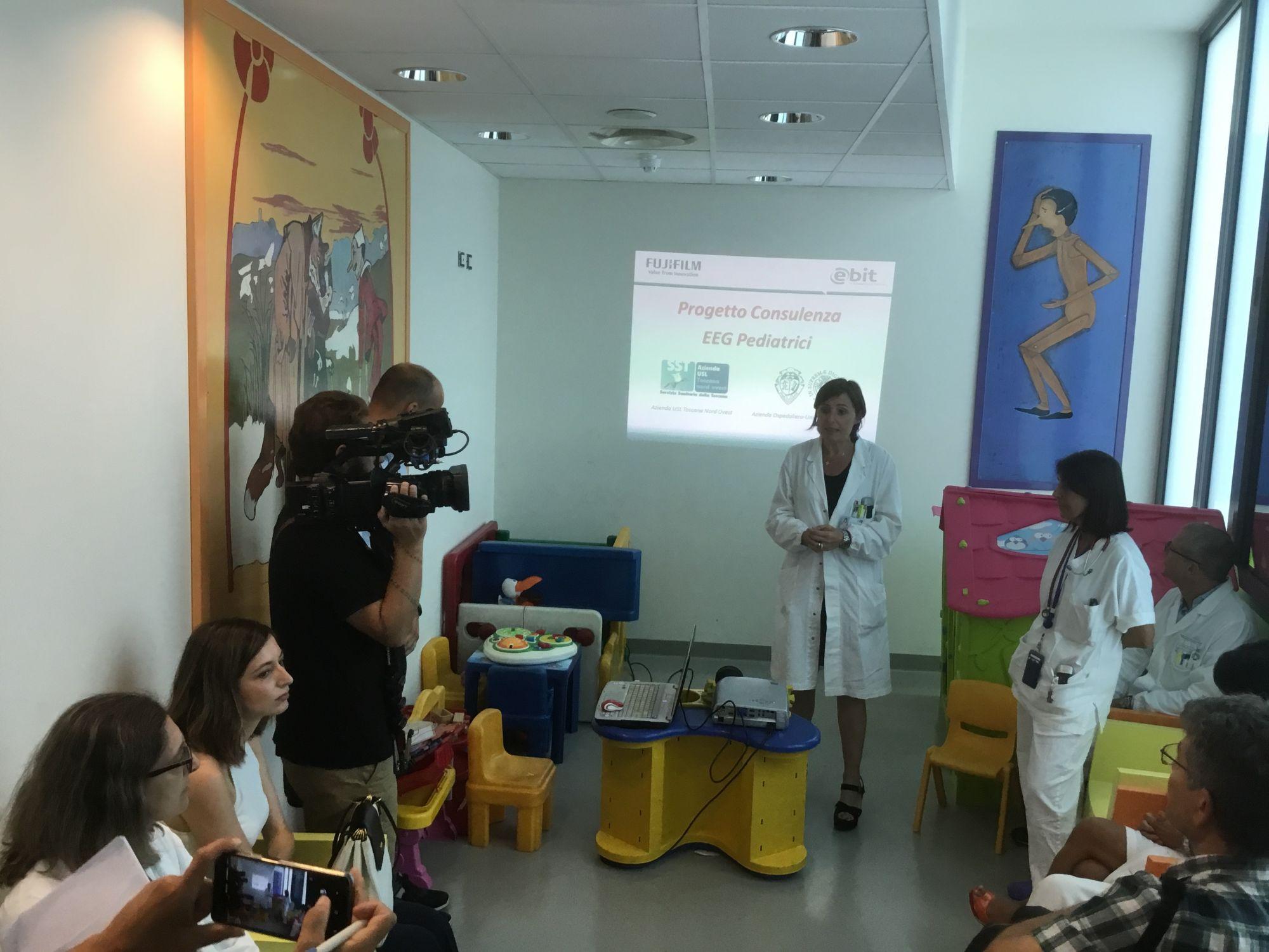 """L'ospedale """"San Luca"""" e l'AOUP insieme per i bambini, presentato il nuovo sistema di teleconsulto tra Pediatrie"""