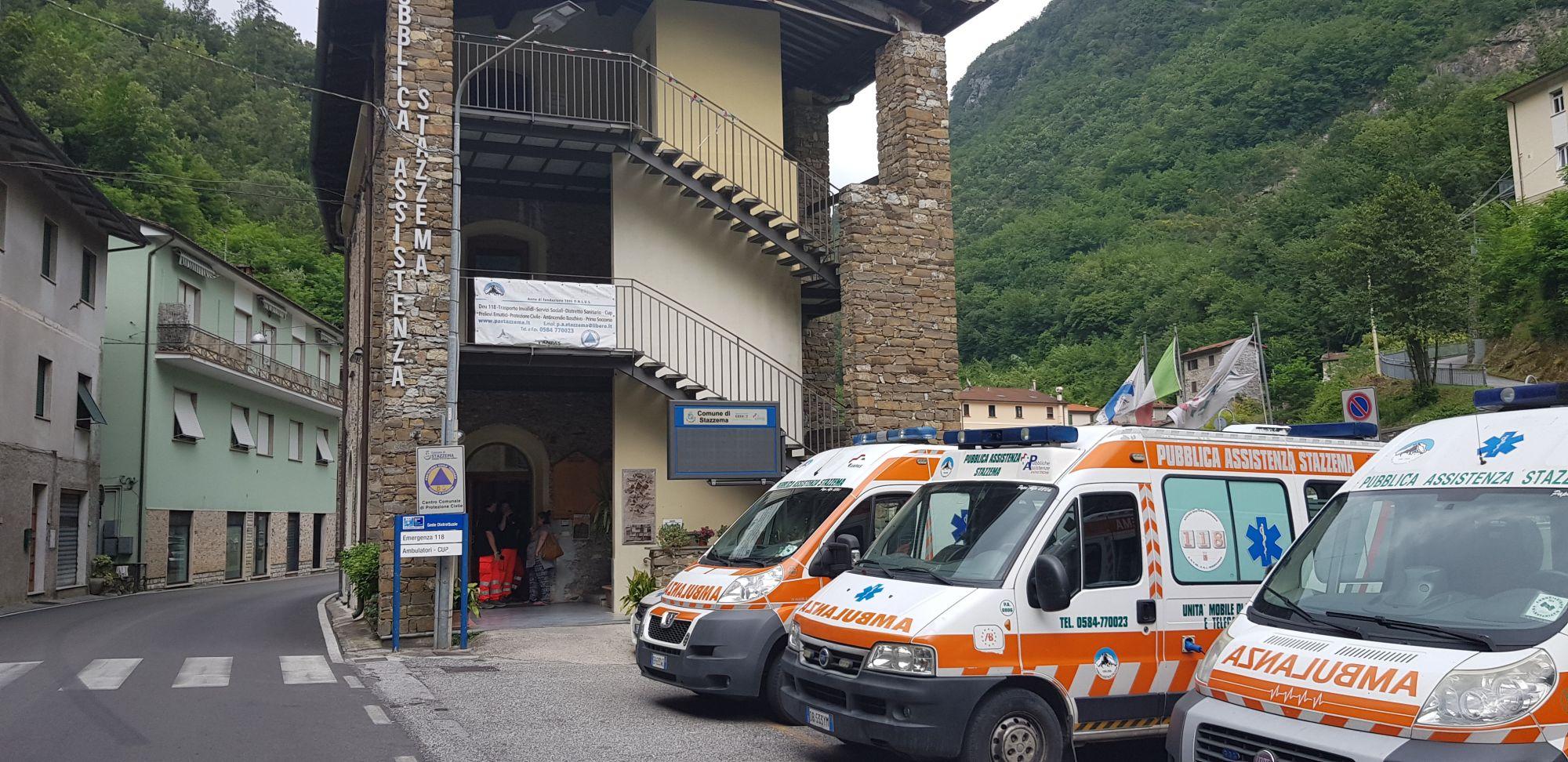 Stazzema da due mesi e mezzo senza medico sull'ambulanza al distretto Asl di Pontestazzemese