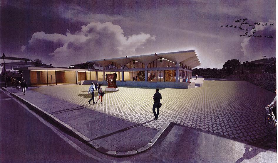 Grandi opere: Museo Mitoraj, iniziati rilievi strutturali ex mercato coperto