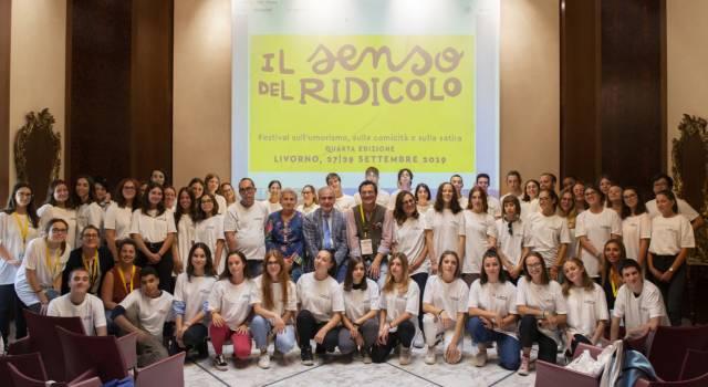 Al Festival del Ridicolo 65 volontari tra studenti di licei e università