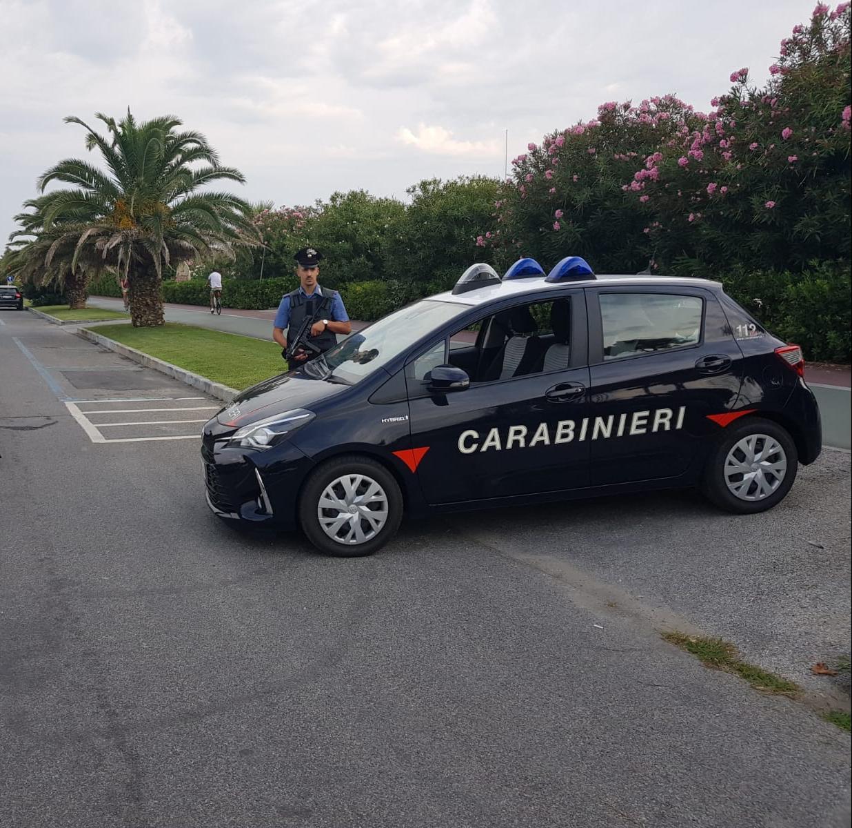 Tentò di rapinare del Rolex un minorenne, 19 enne individuato e denunciato dai Carabinieri di Forte dei Marmi