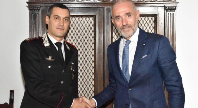 E' il colonnello Ugo Blasi il nuovo comandante provinciale dell'Arma