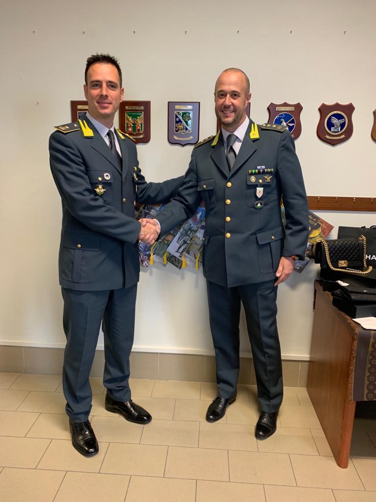 Cambio di guardia alle Fiamme Gialle viareggine: al comando il maggiore Armando Modesto