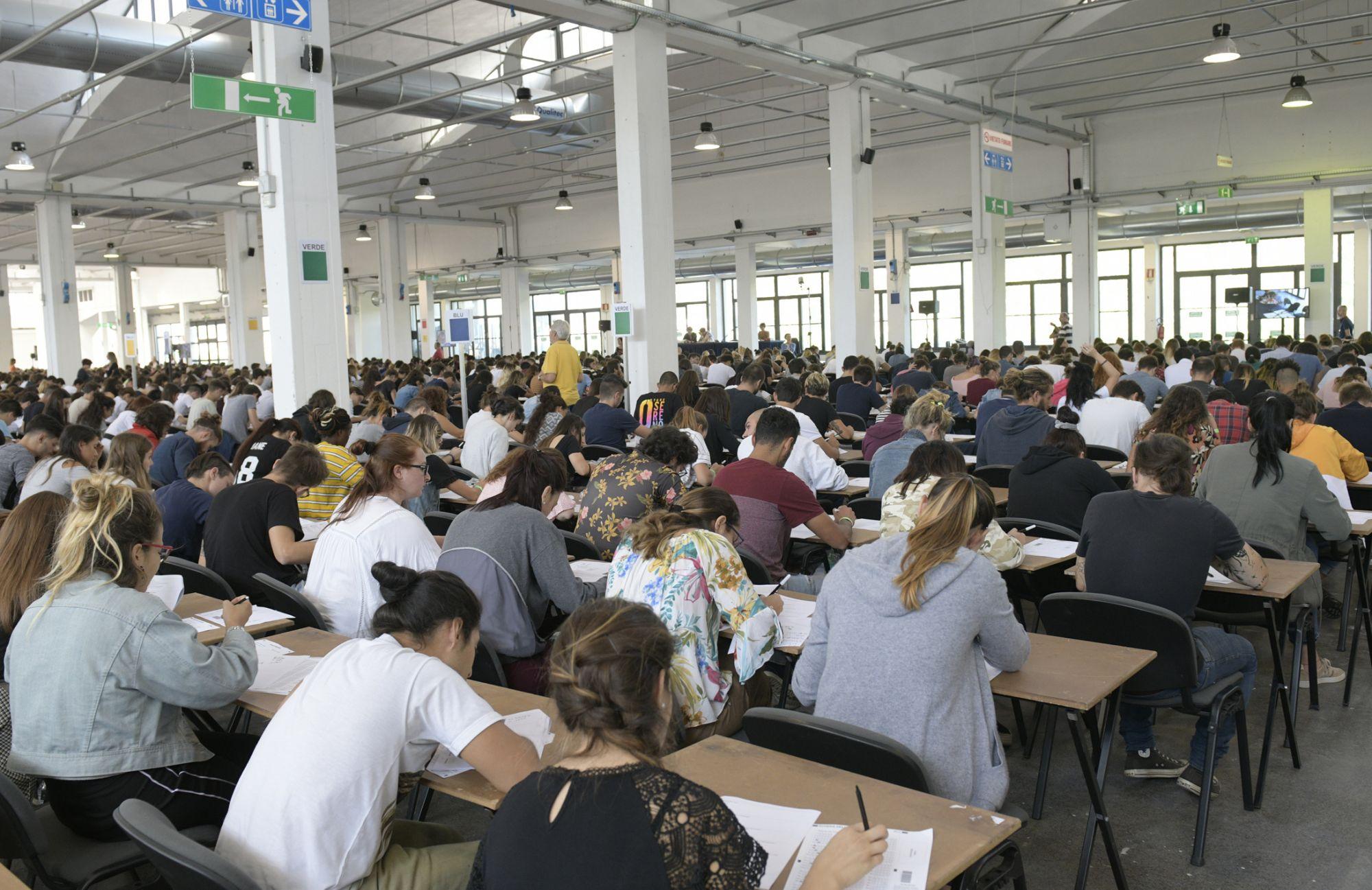 In 7 mila a Lucca per i test di ammissione all'Università