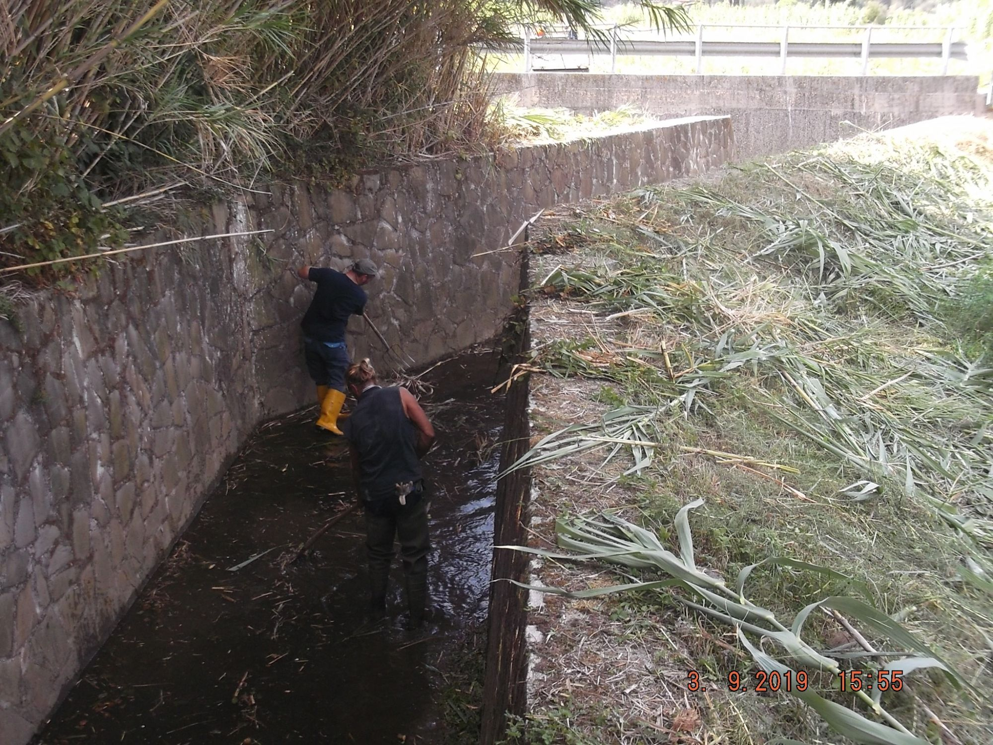 3,8 milioni per la pulizia autunnale dei corsi d'acqua della Versilia