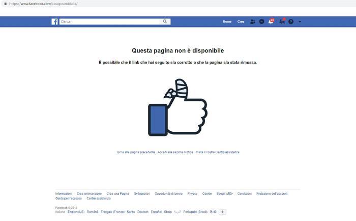 """""""Stop all'odio"""", oscurati su Facebook e Instragram i profili di Casapound e Forza Nuova"""