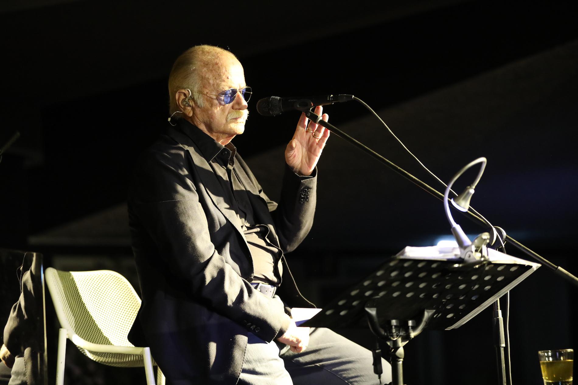 """Il ritorno di Gino Paoli alla Bussola: """"Dedico il concerto a Sergio Bernardini"""""""
