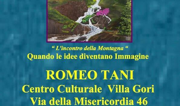 """Il centro culturale Villa Gori di Stiava ospita la mostra """"L'incontro della Montagna – Quando le idee diventano immagine"""""""