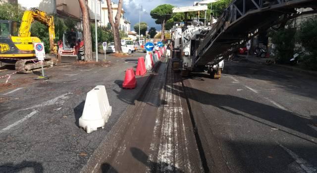 Lavori a Viareggio e Torre del Lago, 1 milione e 300mila euro per manto stradale e marciapiedi