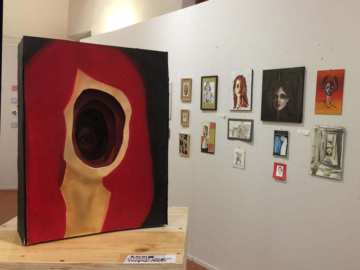 """Mostre: le opere di quattro studentesse del liceo artistico """"Stagi"""" in esposizione alle Scuderie Granducali"""