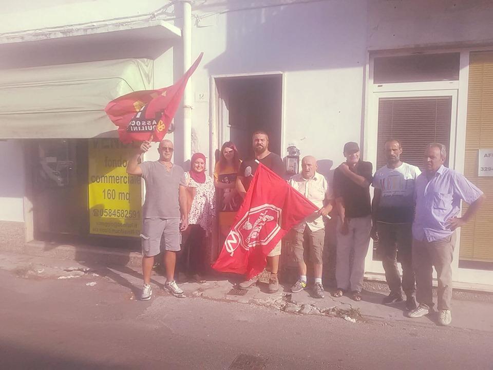 """Sfratto rinviato al Varignano, i militanti: """"Inadeguate le risposte dell'amministrazione Del Ghingaro"""""""
