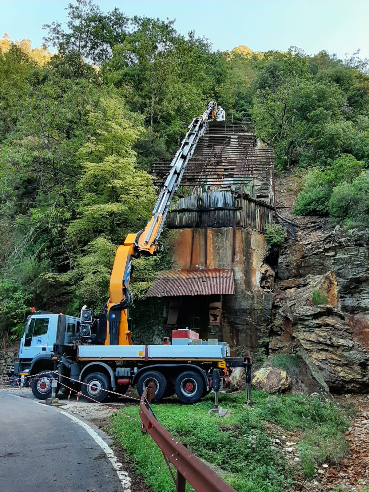 Ex Edem, si completa la rimozione di amianto dal Monte Arsiccio