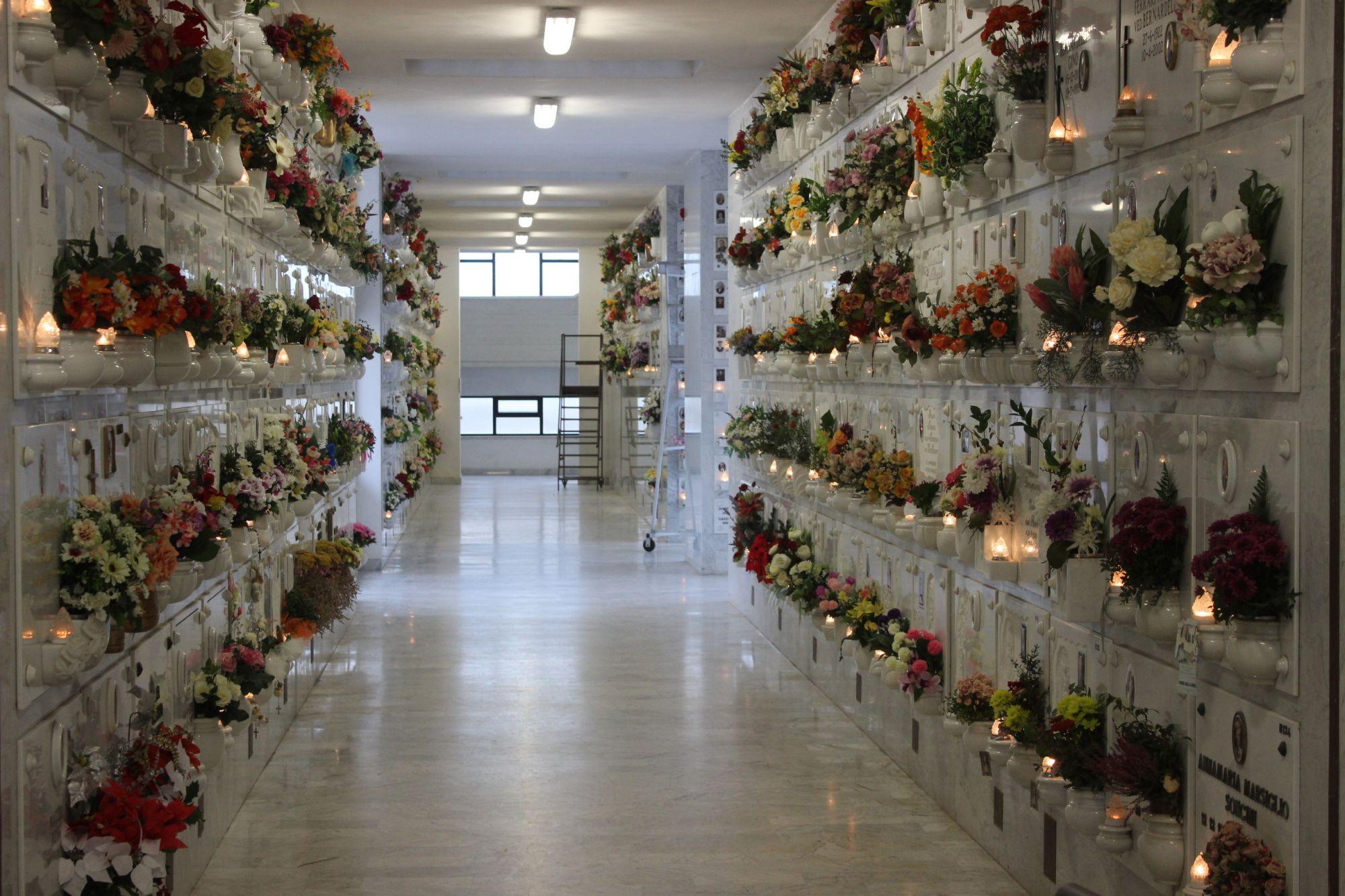 Scippata al cimitero cade si fa male a un ginocchio: caccia aperta al ladro
