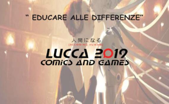 Educazione alle differenze, stand della Provincia a Lucca Comics and Games