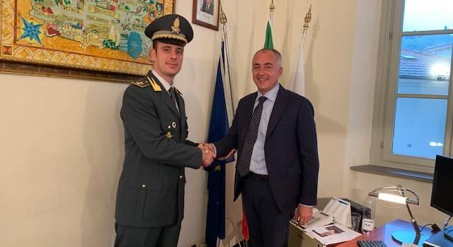 Lotta all'evasione e al sommerso, il comandante della GdF in visita a Massarosa