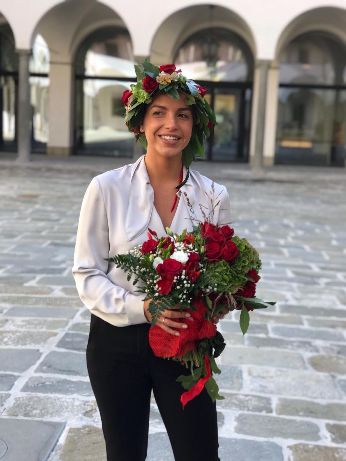 Congratulazioni a Elisa Carloni: laureata con 110 e lode in Diritto dell'Impresa, del Lavoro e delle Pubbliche Amministrazioni