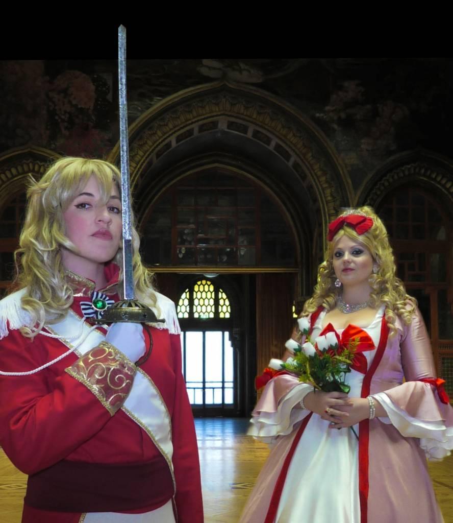 Lady oscar e maria antonietta al centrale