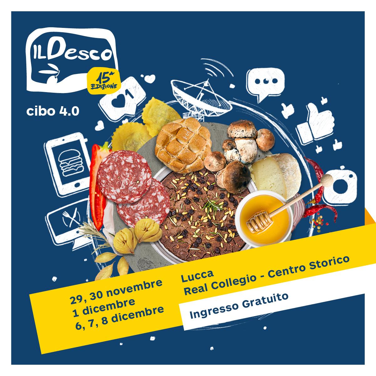 Il Desco torna a Lucca: alla scoperta della gastronomia italiana