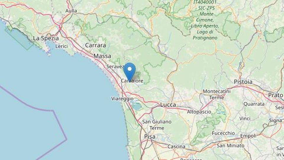 La terra torna a tremare a Camaiore, il boato e la scossa di terremoto stanotte
