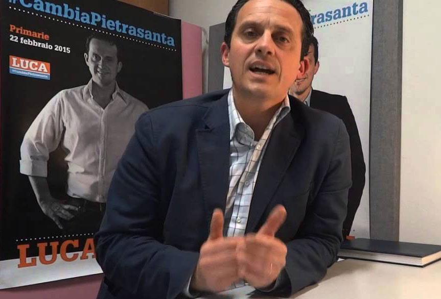Il consigliere comunale di Pietrasanta Luca Mori aderisce a Italia Viva