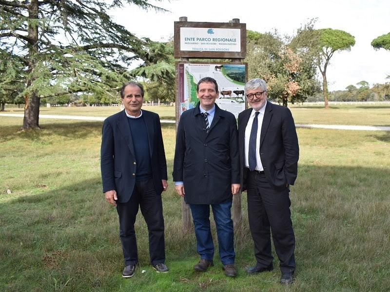 Il prefetto di Pisa in visita al Parco di San Rossore Migliarino Massaciuccoli