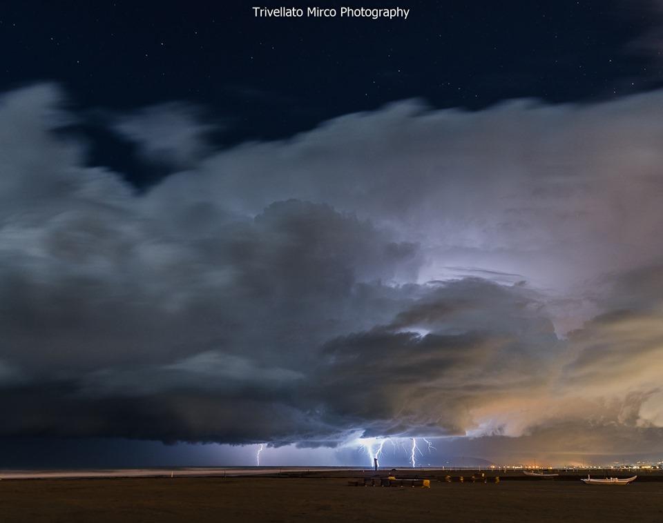 Il temporale in mare nelle foto di Mirco Trivellato