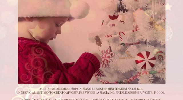 Bimbi, cani e Natale: Iacopo Giannini regala il servizio fotografico nel suo nuovo studio a Pietrasanta