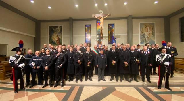 """Celebrata a Viareggio la """"Virgo Fidelis"""", Patrona dell'Arma dei Carabinieri"""
