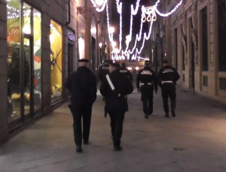 Degrado e droga a Lucca, servizio interforze
