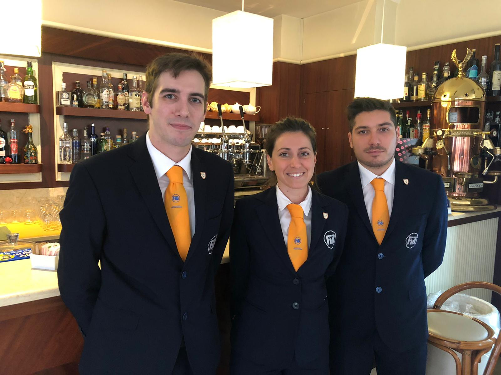 Tre barman versiliesi alla concquista dei campionati italiani in Sardegna