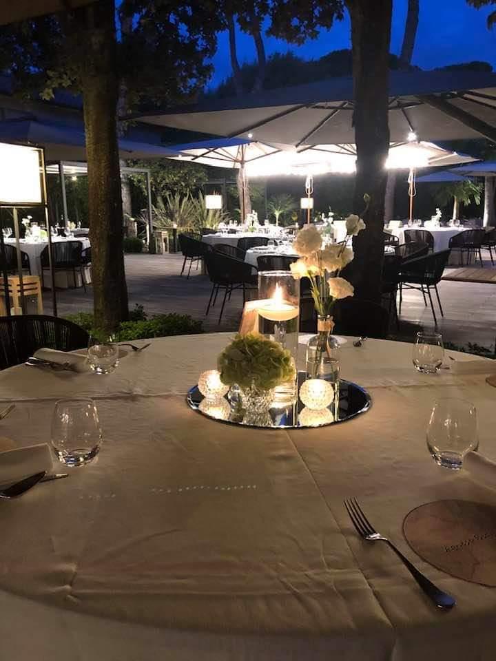 Stella Michelin per il ristorante Il Parco di Villa Grey